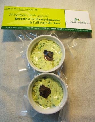 escargots recette bourguignonne
