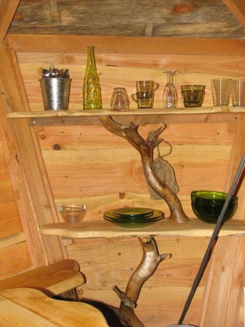Equipement de la cabane