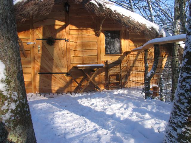 Cabane en hiver